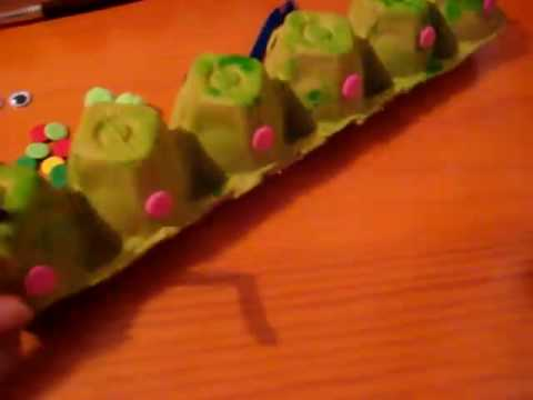 Arts and Crafts. Caterpillars - YouTube thumbnail